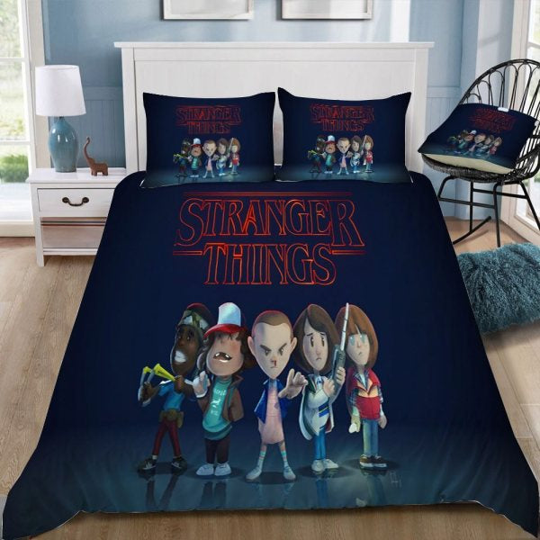 Stranger Things Cartoon Bedding set