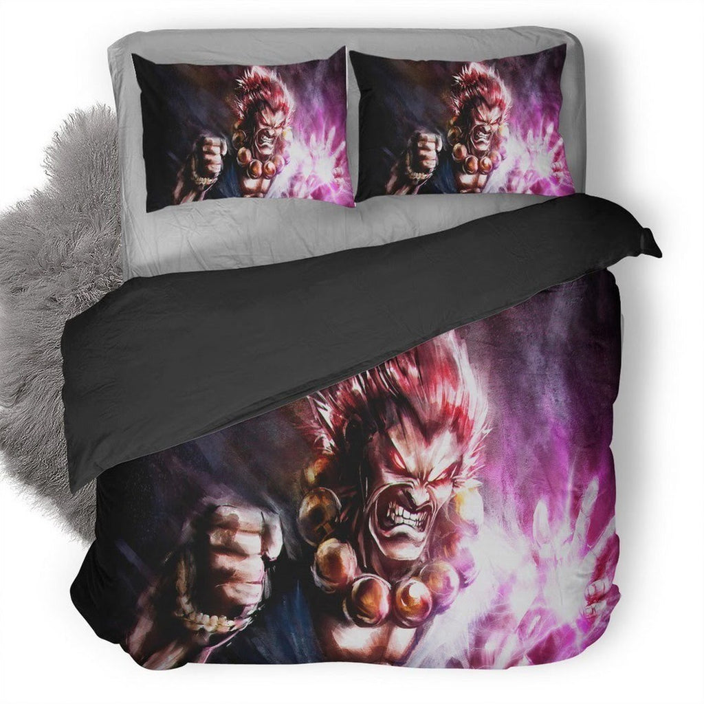 Street Fighter V Akuma 3D Personalized Customized Bedding Set