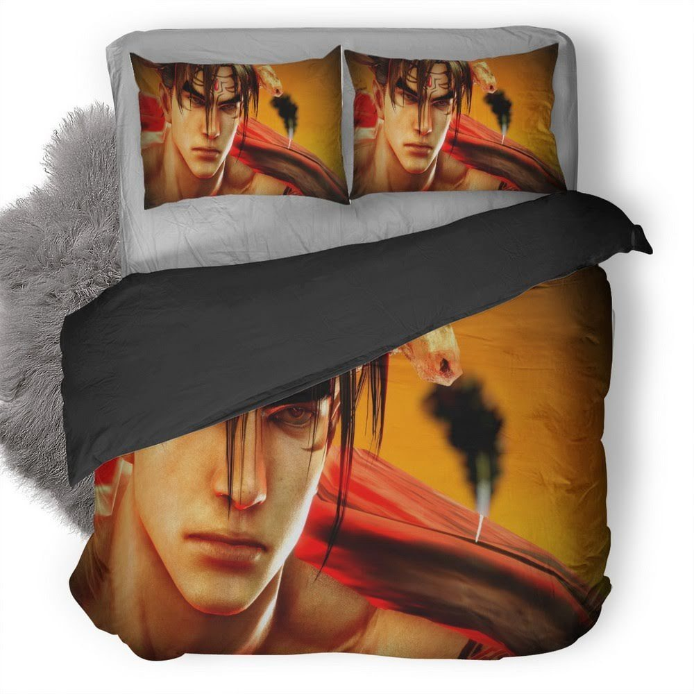 Tekken Jin Kazama Bedding Set 1
