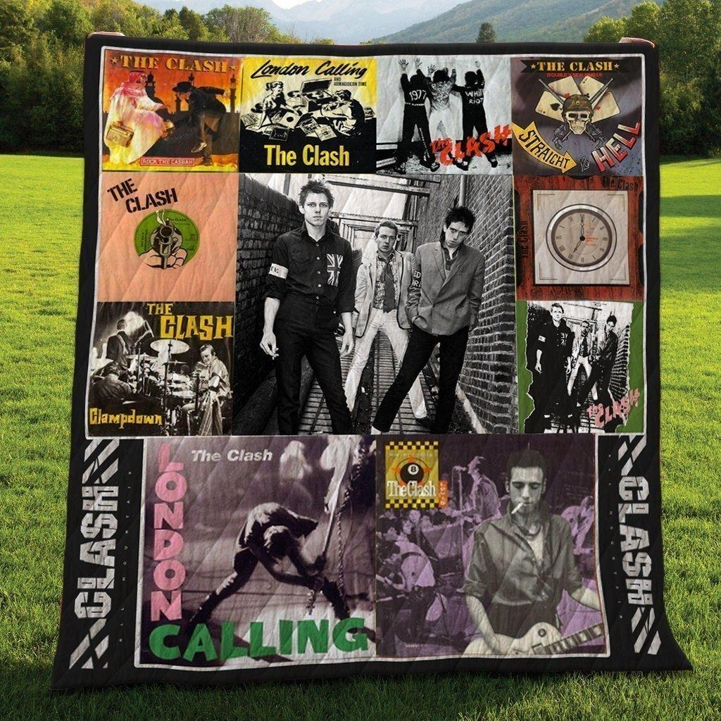 The Clash Album Quilts