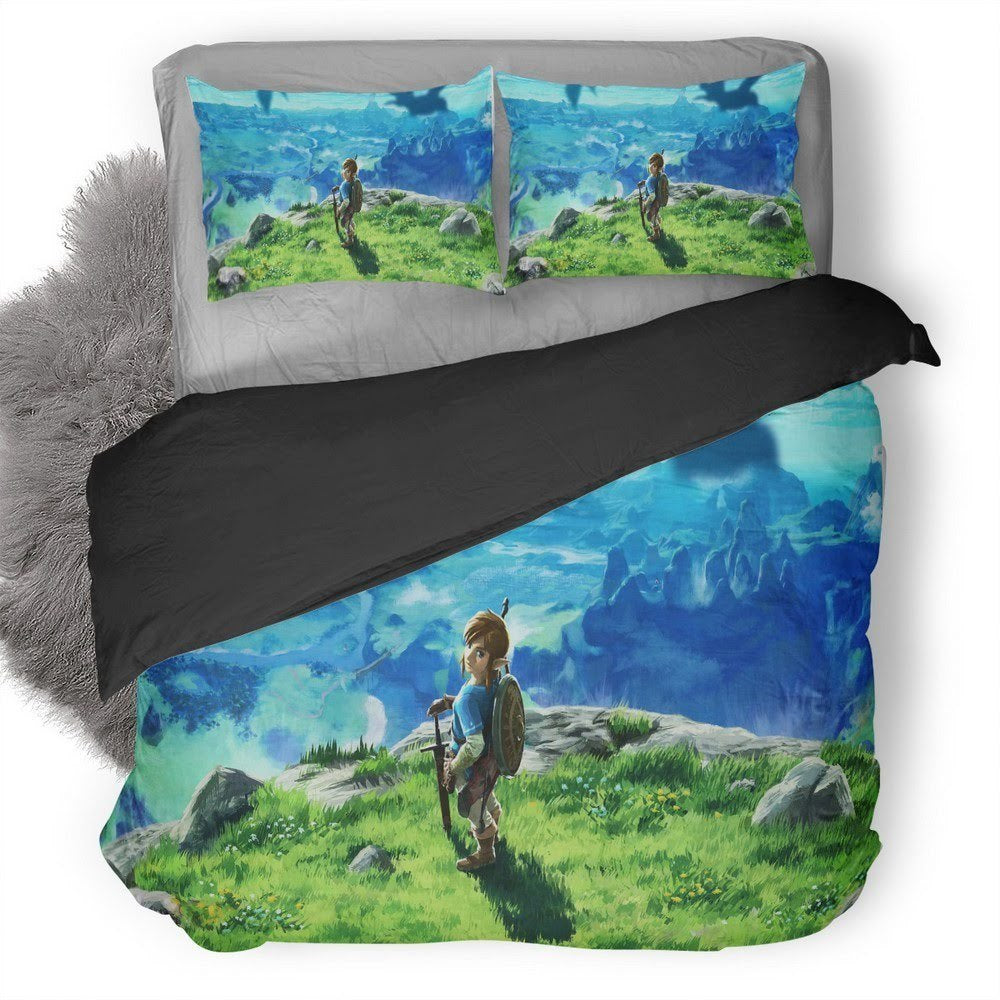 The Legend Of Zelda Breath Of The Wild Bedding set 1
