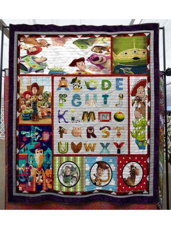 Toy Story Animation Blanket Quilts