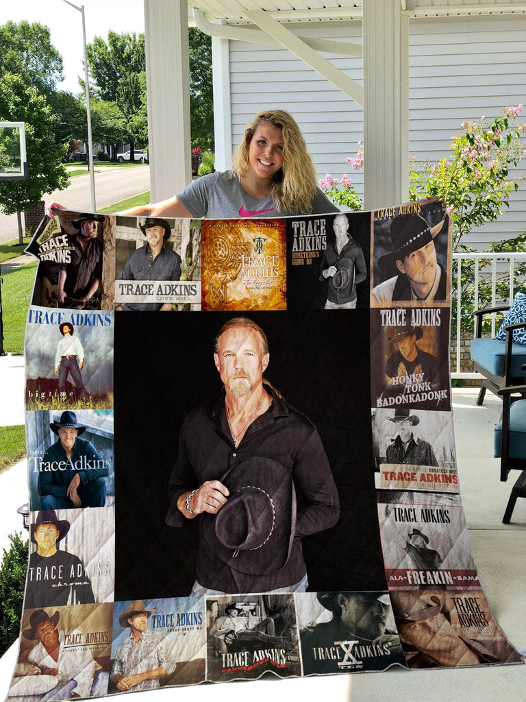 Trace Adkins Album Blanket Quilts