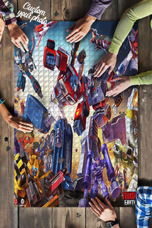 Transformer Herman Puzzle 500 Pieces