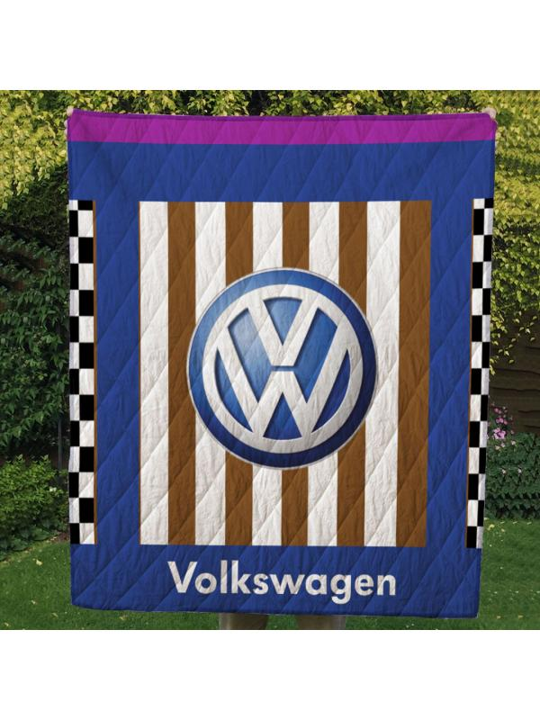 Volkswagen Badge Blanket Quilts