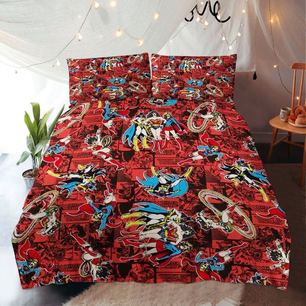 WONDER WOMAN BEDDING SET