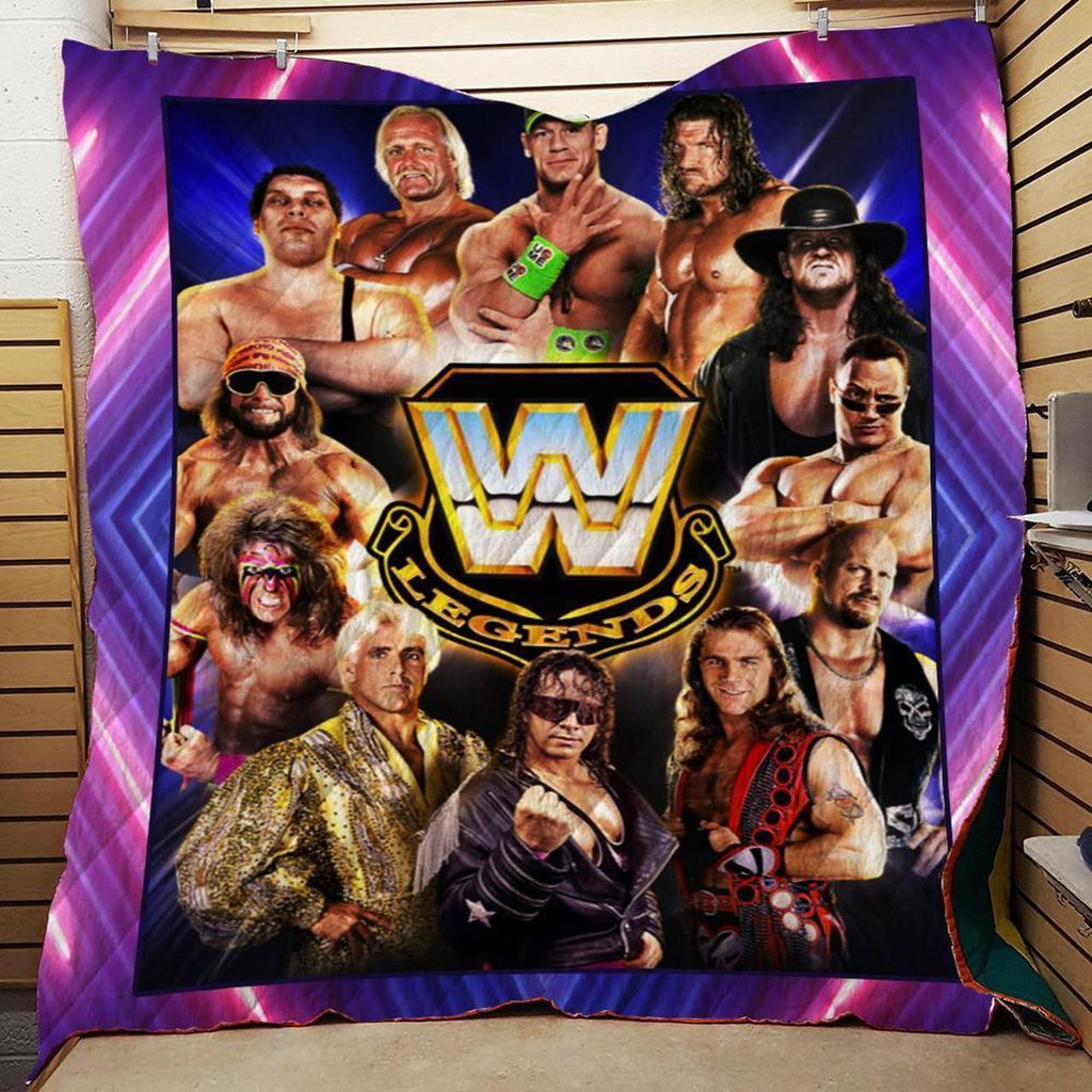 WWE Legends Customize Quilts