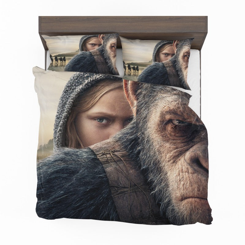 War For The Planet Of The Apes Bedding Set