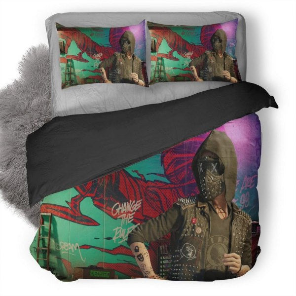 Watch Dogs Bedding Set
