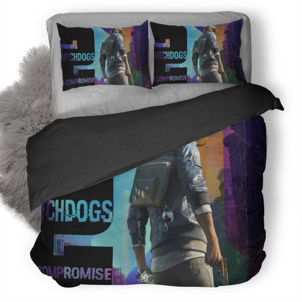 Watch Dogs Wrench Bedding set V17