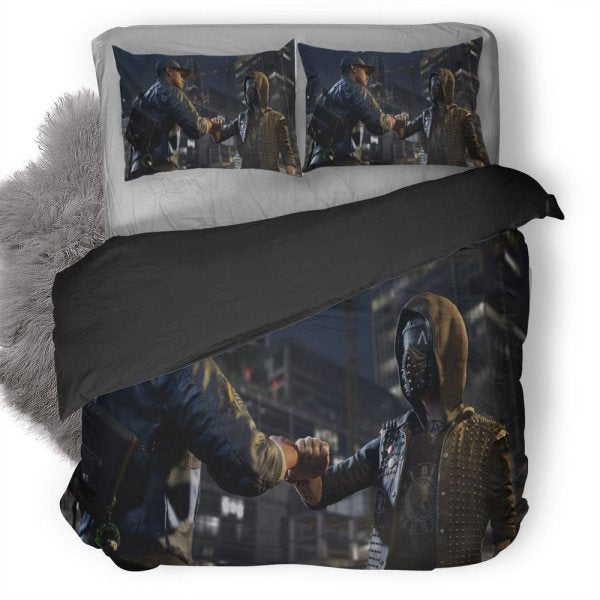 Watch Dogs Wrench Bedding set V19