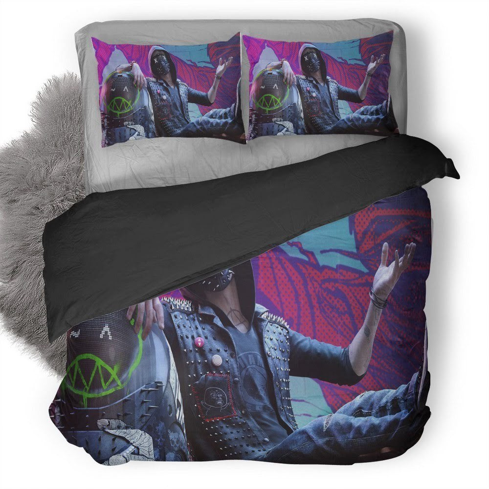 Watch Dogs Wrench Bedding set V2