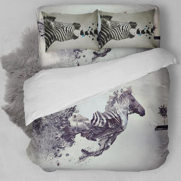 Zebra Bedding Set