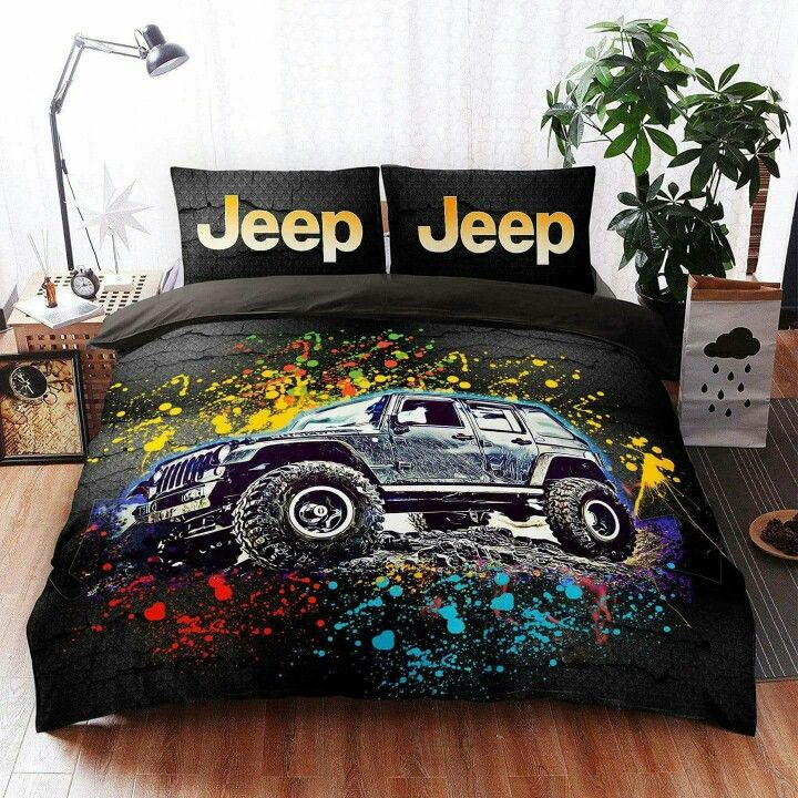 jeep car bedding set