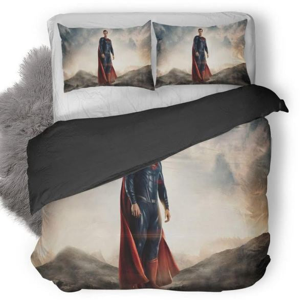 ustice League Superman Scene Bedding set