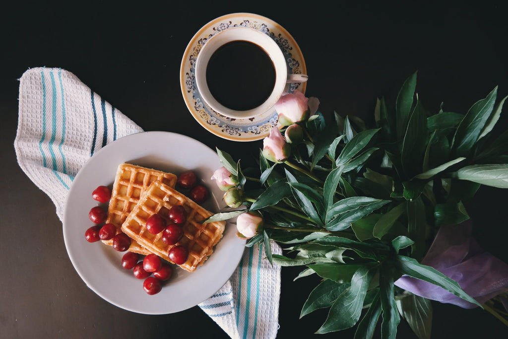 Learn How To Make Lavender Olive Oil Waffles