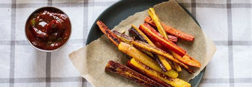 Roasted Carrot Fries (Gluten-Free