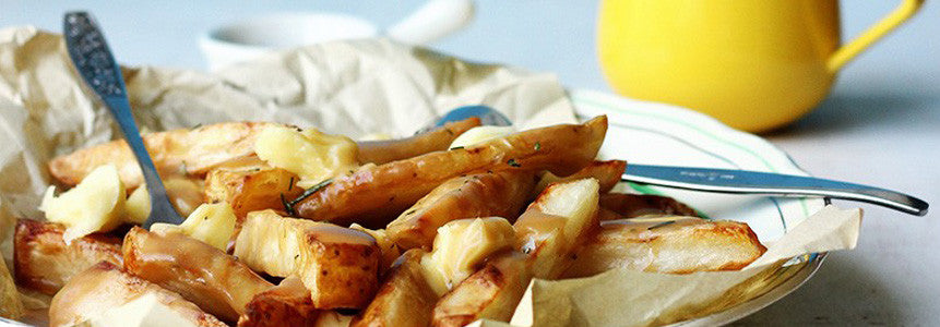 Poutine Fries with Himalayan Salt
