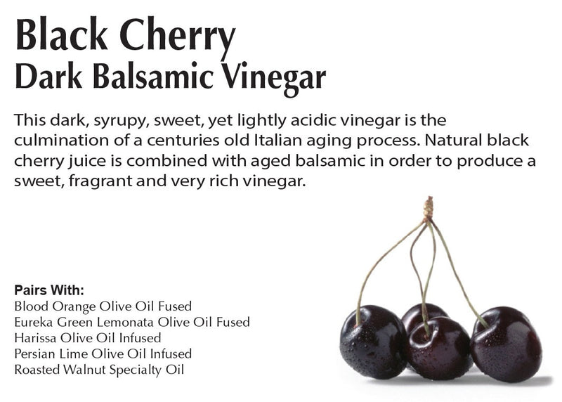 Black Cherry - Dark Balsamic Vinegar