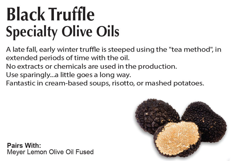 Black Truffle Extra Virgin Olive Oil