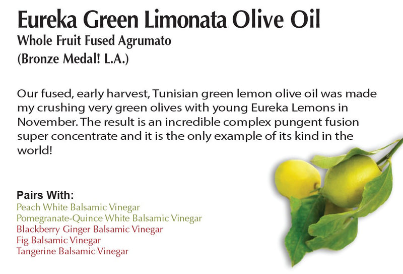 Eureka Green Limonata Olive Oil