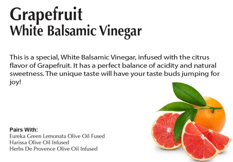 Grapefruit White Balsamic Vinegar