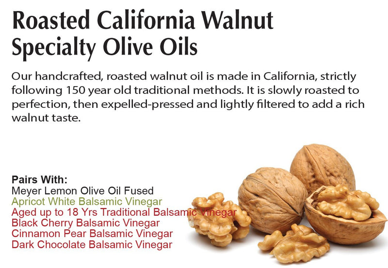 Roasted California Walnut Olive Oil