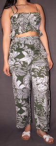 Alani Floral High Waist Pants