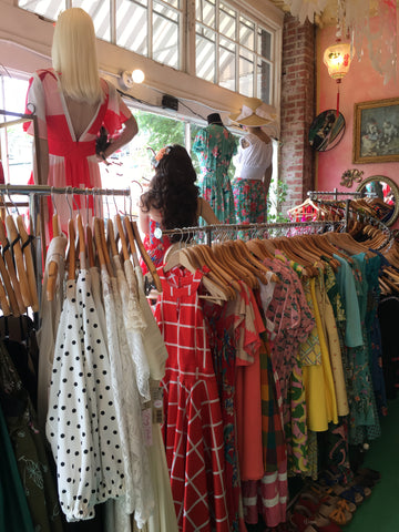 seattles favorite vintage clothes and indie fashion boutique Pretty Parlor
