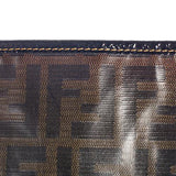 fendi coated canvas purse detail