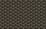 goyard coated canvas print material