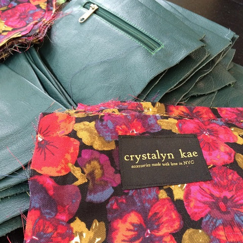 crystalyn kae made in nyc woven label