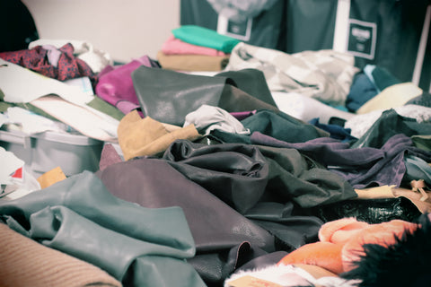 FabScrap collected textile waste