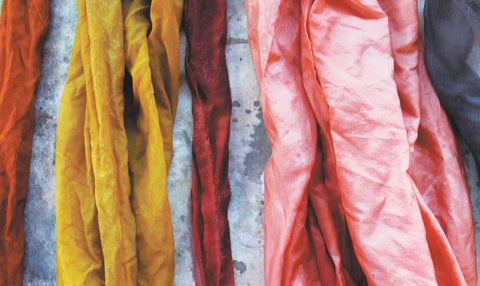 create natural dyes from fruits and vegetables