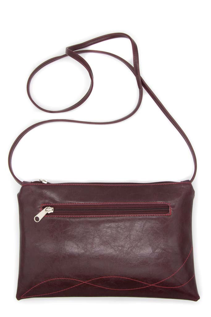 Bossa Nova Medium Crossbody - Wine