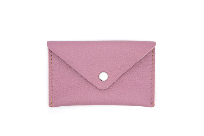 Card Case Wallet - Lilac Leather