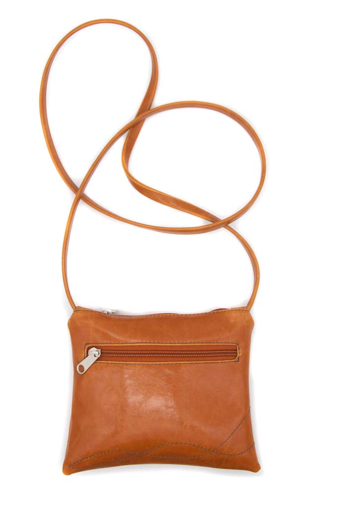 Cha Cha Small Crossbody Bag - Butterscotch Vegan Leather