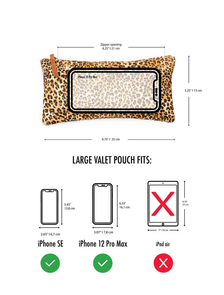 Large Valet Pouch