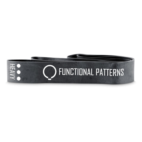 Functional Patterns Feedback Bands - 3 Pack (Black 1.3mm Thick)