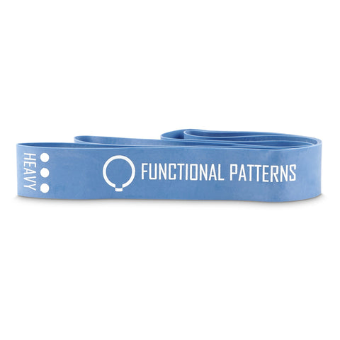 Functional Patterns Feedback Bands - 3 Pack (Blue 1.5mm Thick)