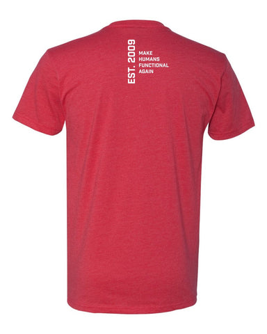 Functional Patterns Mens T-Shirt - Red