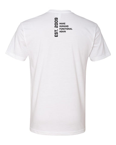 Functional Patterns Mens T-Shirt - White