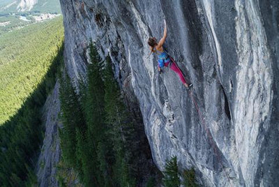 Climbing in Beautiful Canada by Daniela Ebler