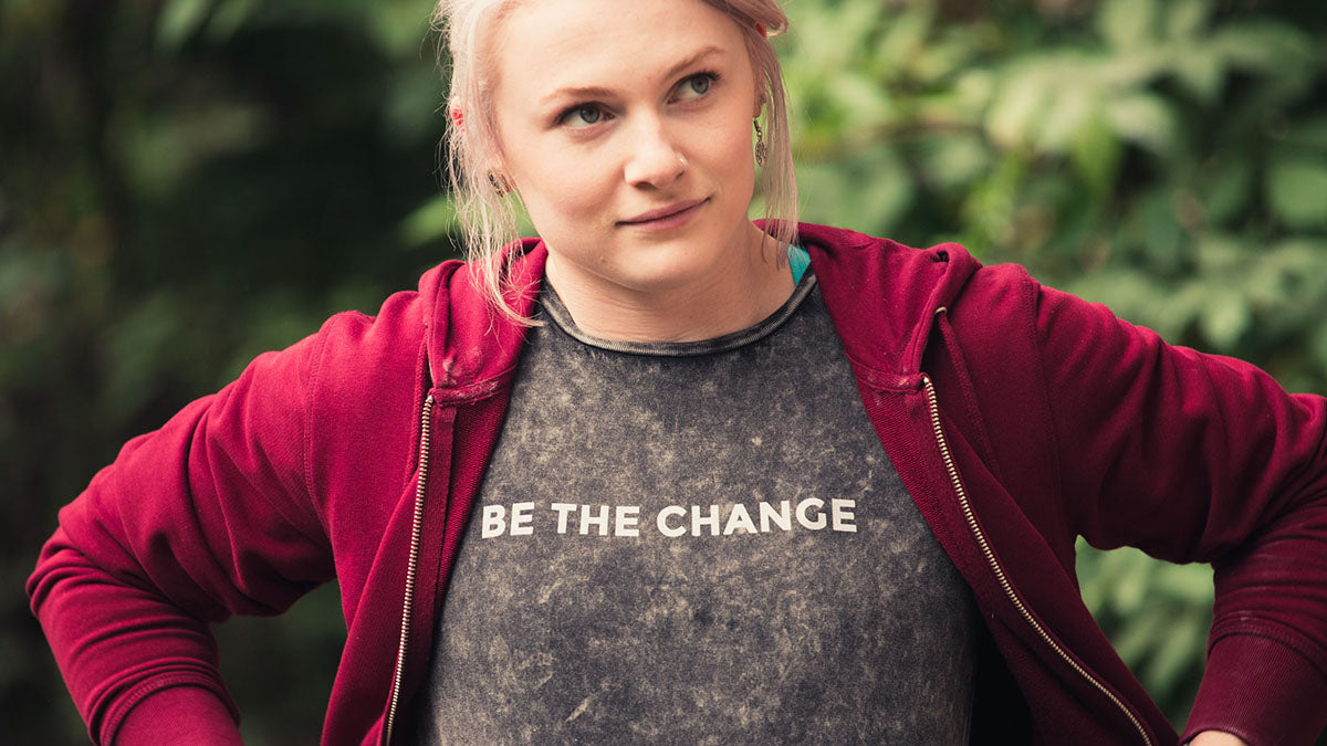 3RD ROCK Be the change t-shirt