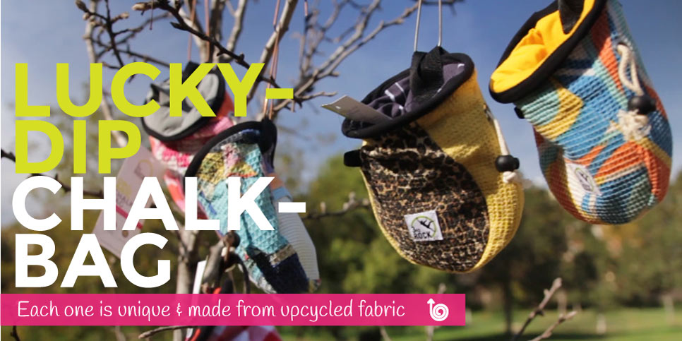 Lucky Dip Chalk bags, so organic they grow on trees!