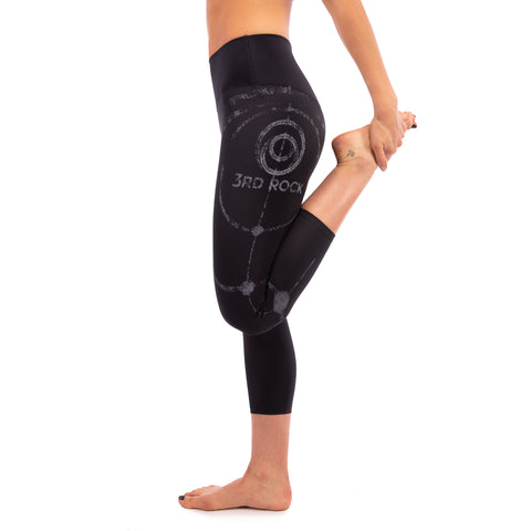 RETITAN ORBIT - 3/4 Recycled Stretch Leggings