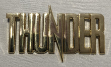 Load image into Gallery viewer, 2020 Thunder Gold Metal Logo Badge