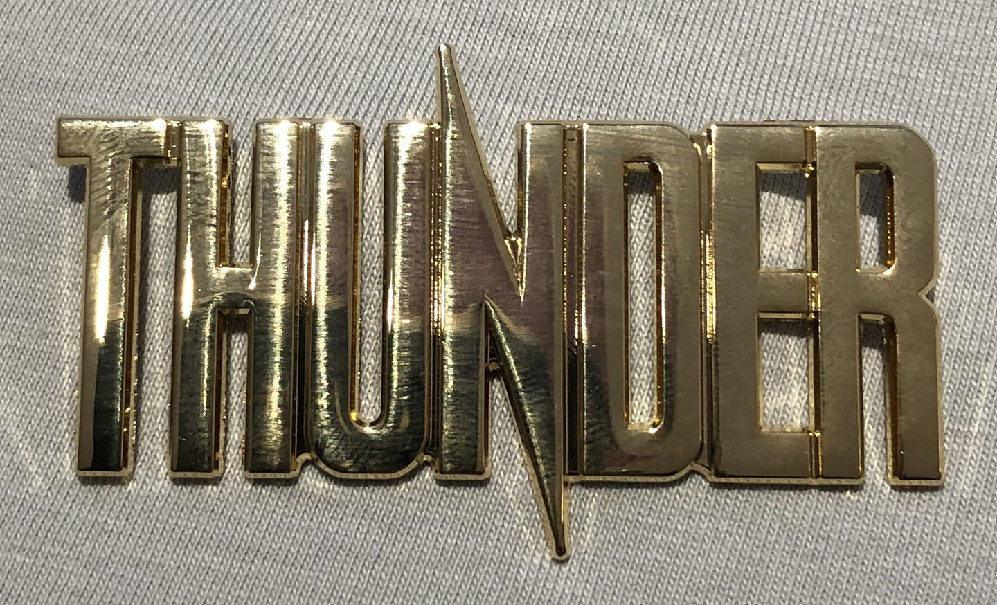 2020 Thunder Gold Metal Logo Badge