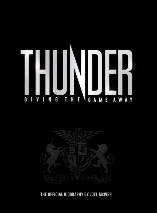 Giving The Game Away - The Thunder Story - Imperfect Cover