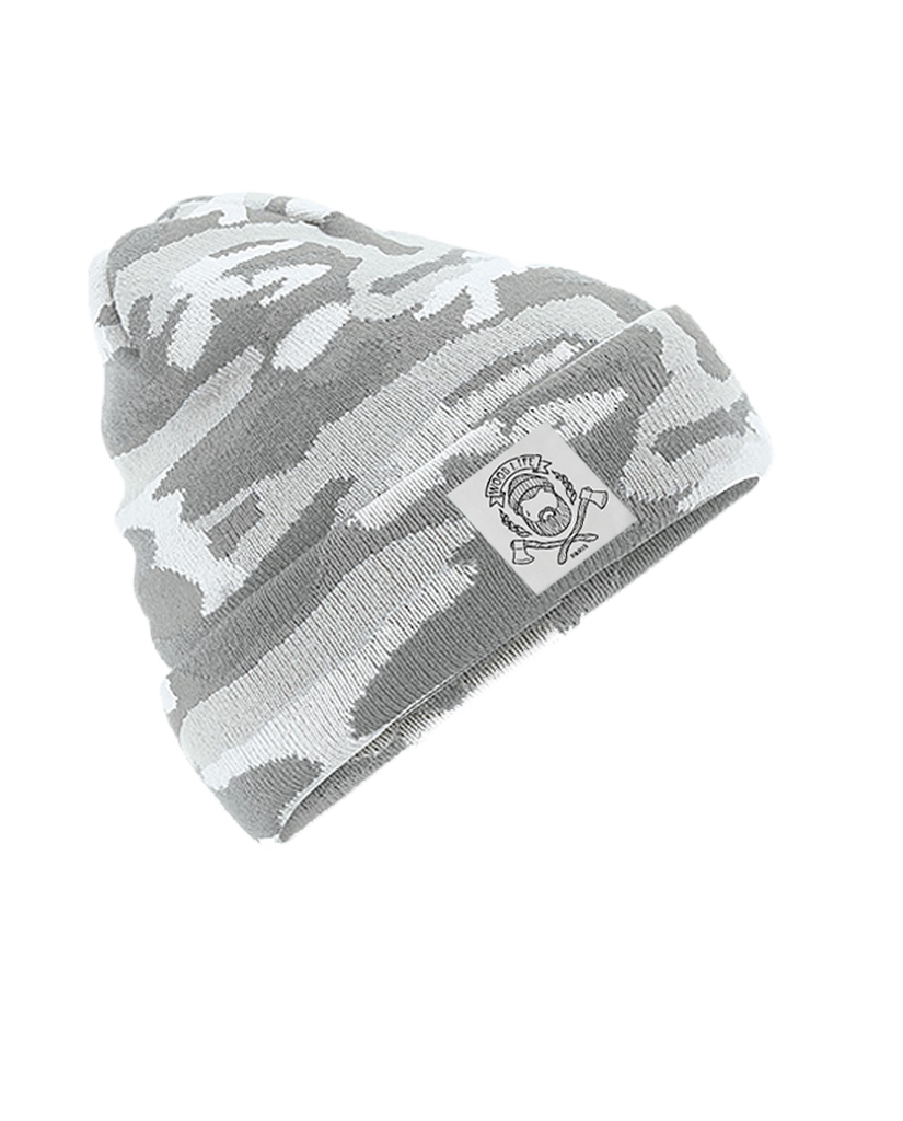 "BONNET | ""Woodlife"" - Ice Camo - Woodlife - Les Bûcherons"